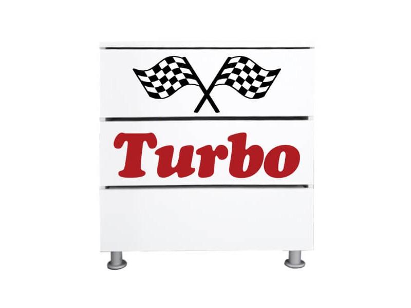Comoda copii Ferrari Turbo
