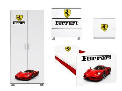 Dormitor copii Ferrari