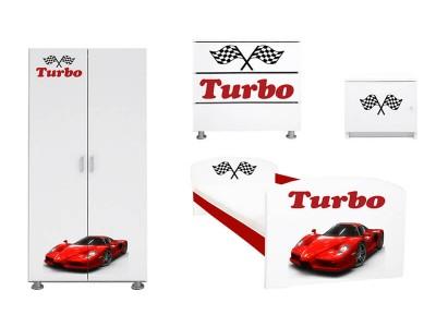 Dormitor copii Ferrari Turbo