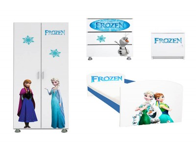 Dormitor copii Frozen