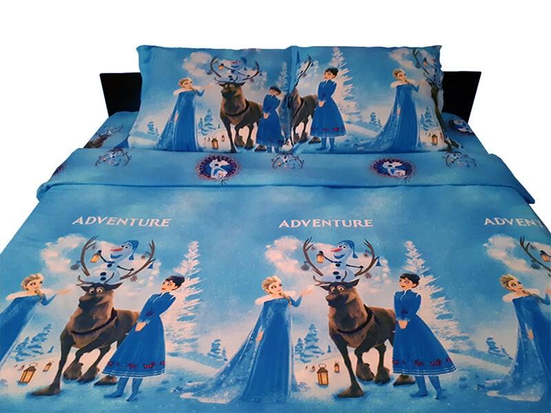 Lenjerie de pat copii Frozen Adventure