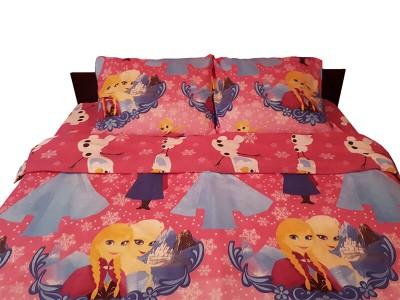 Lenjerie de pat copii Frozen roz