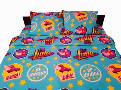 Lenjerie de pat copii Soy Luna turcoaz