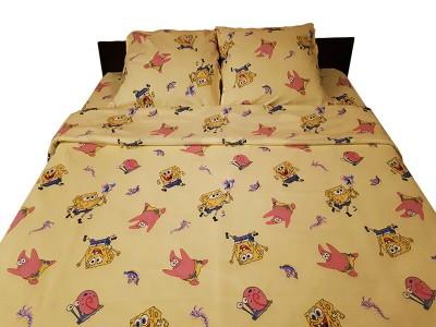Lenjerie de pat copii SpongeBob