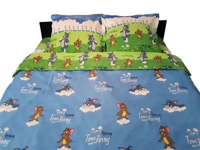 Lenjerie de pat copii Tom si Jerry