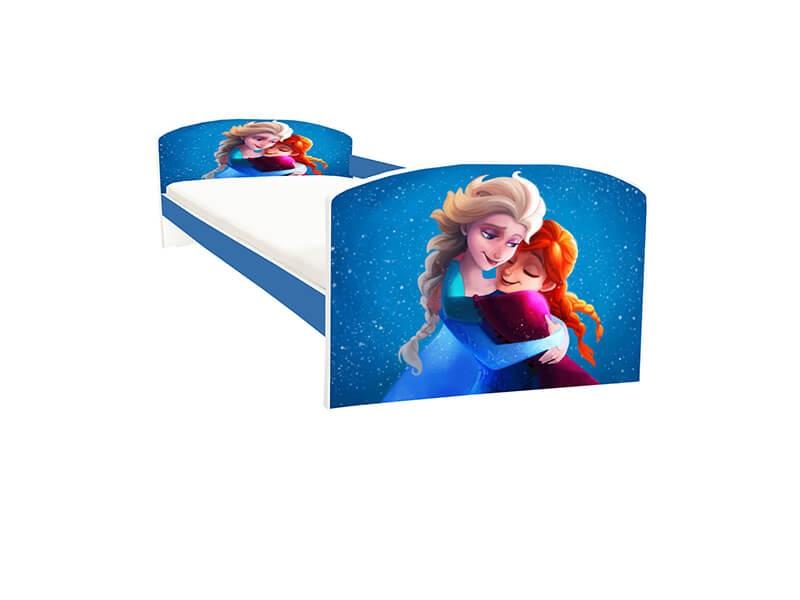 Pat copii Anna si Elsa