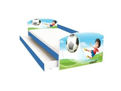 Pat copii cu sertar Fotbal
