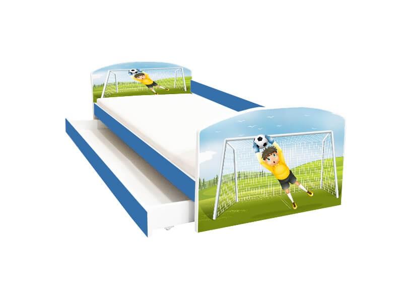 Pat copii cu sertar Fotbal Portar