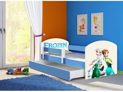 Pat copii cu sertar si saltea Frozen