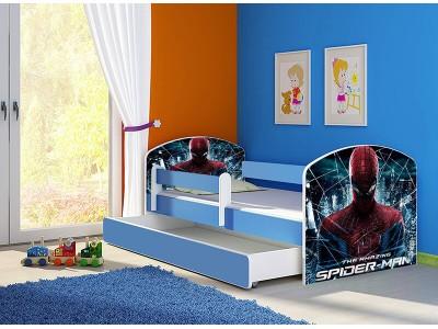 Pat copii cu sertar si saltea Spider-Man Uimitorul