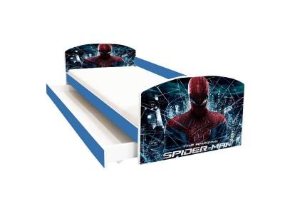 Pat copii cu sertar Spider-Man Uimitorul