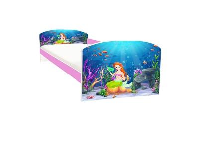 Pat copii Mermaid roz