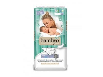 Scutece ECO Bambyo 1, 40 BUC