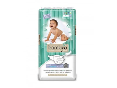 Scutece ECO Bambyo 4, 42 BUC